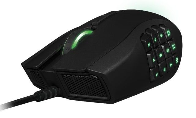 Razer Naga MMO Gaming Mouse 2014 Edition Announced By Edwin Kee	 on 07/30/2013