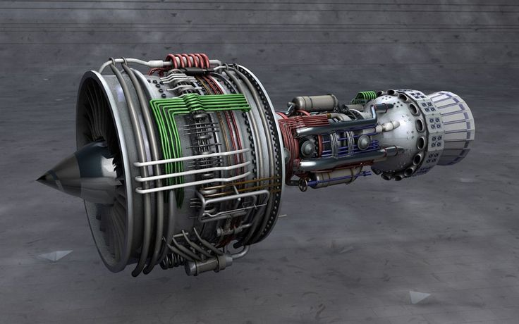 Rolls-Royce Trent 1000 Airbus Engine by tenlaws