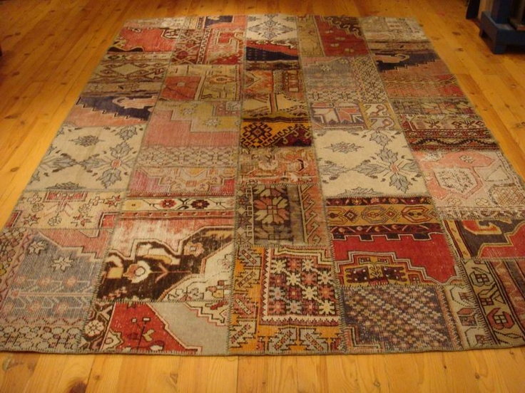 I really want a patchwork Persian rug.