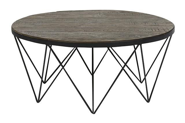 KINGSTON EIFFEL COFFEE TABLE 900d  0039500