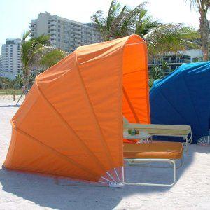 FiberBuilt Sunbrella Pool and Beach Cabana - Canopies at Hayneedle
