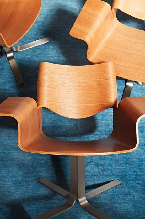 Pretty like a flower. Buttercup Chair.  #modernchair #modernseating