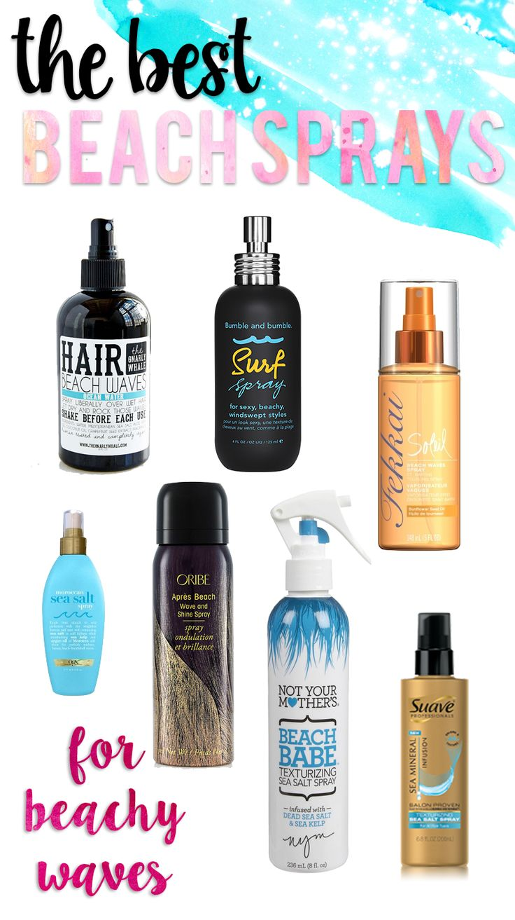 Want beachy waves? Here is a list of the BEST beach sprays to get you there!