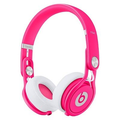 Beats by Dr. Dre Mixr Headphones - Neon Pink : Target Mobile
