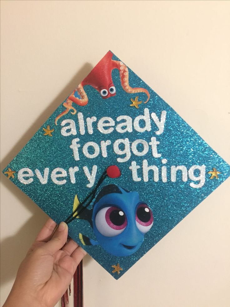 Finding Dory Graduation Cap Decoration!