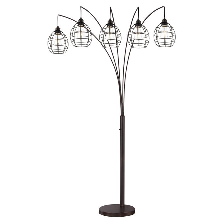 Lite Source Kaden 5 Light Floor Lamp - LS-82795V