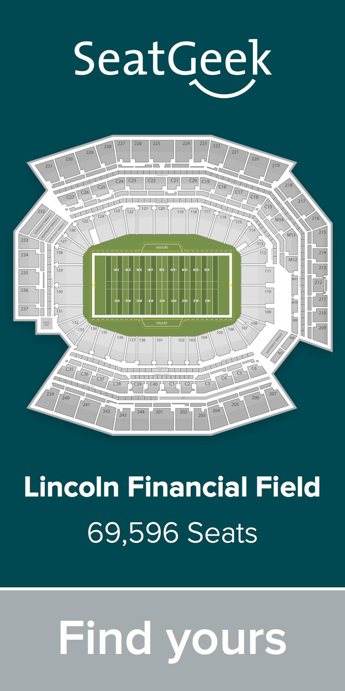 The best deals for eagles tickets are on seatgeek