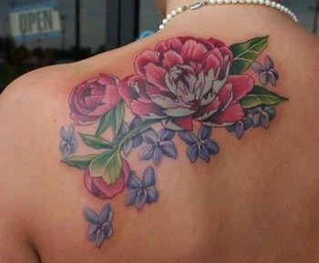 tatuagem de peônia 6