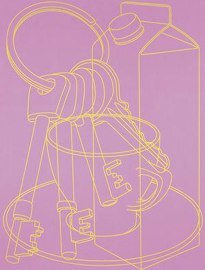 Portrait (pink) - MICHAEL CRAIG-MARTIN