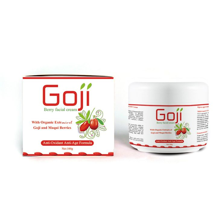 100G Anti Oxidant Anti-Age Goji Berry Facial Cream Revitalizing Cream for Face Wolfberry Medlar Anti Wrinkle Best Ageless Cream