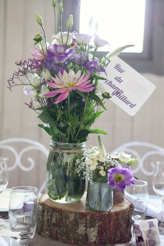 Les 90 meilleures images propos de decoration table sur pinterest mariage - Deco table de mariage ...