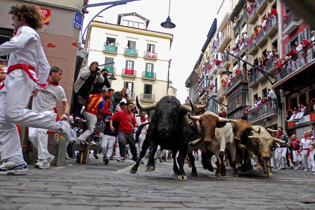 MAÑANA COMIENZAN LOS ENCIERROS DE SAN FERMÍN   Encierros Pamplona San Fermín San Fermín 2016