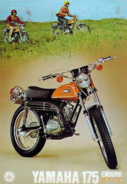Vintage Yamaha Enduro Motorcycles