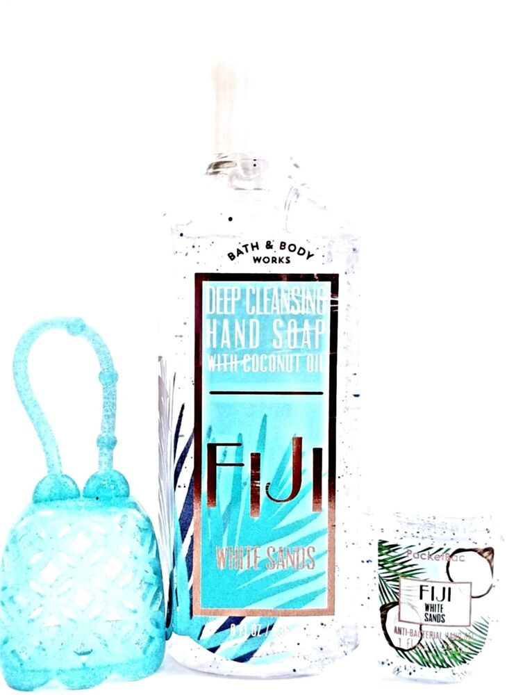 Bath And Body Works Fiji White Sands Exfoliating Soap Pocketbac