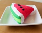 felt food - Watermelon Play Food