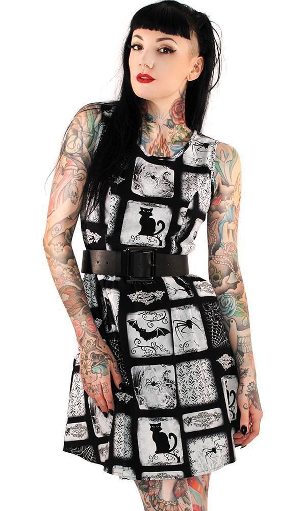 Retrolicious Macabre Dress Fashion Alternative Fashion Super Cute Dresses