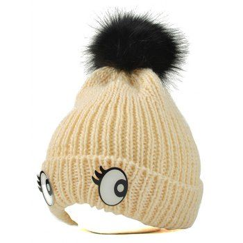 SHARE & Get it FREE | Winter Knitting Patterns Eyes Pom HatFor Fashion Lovers only:80,000+ Items·FREE SHIPPING Join Dresslily: Get YOUR $50 NOW!