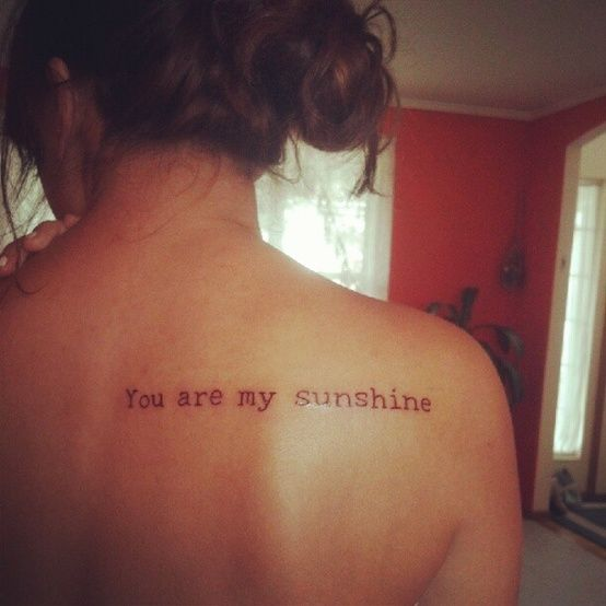My First Tattoo Represents My Time Getting Through: 72 Best Images About Back Shoulder Tattoos On Pinterest
