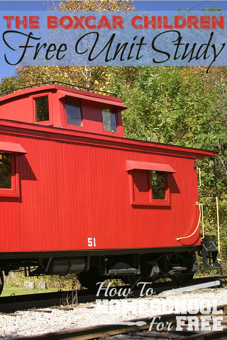 Such a fun FREE unit study for The Boxcar Children! via @survivingstores