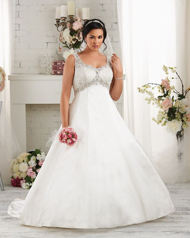 48 best Plus Size Wedding Dresses images on Pinterest | Wedding ...