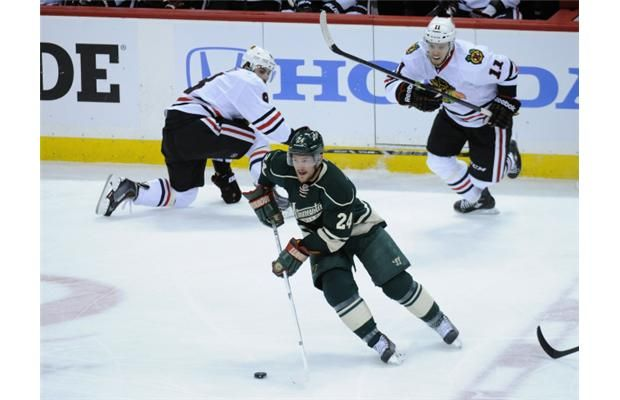 Wild barrage against goalie Crawford beat Blackhawks 4-2 in Game 4 to tie series - THE VANCOUVER SUN #Blackhawks, #Hockey