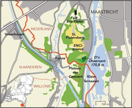 Sint-Pietersberg - Geologie van Nederland