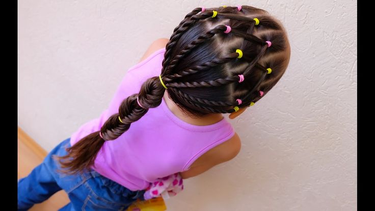 Peinado para niña fácil / Easy harstyle for girls ❤