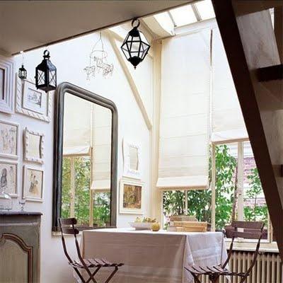 Paris kitchen nook