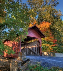 Covered Bridge in Frederick, MD http://www.visitfrederick.org/historic-covered-bridges-driving-tour