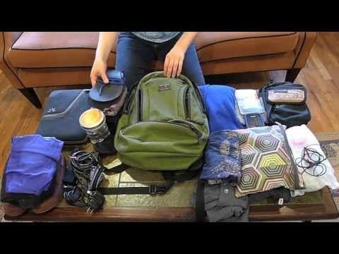 Video: One Woman's Minimalist / Ultralight Packing List