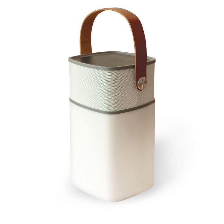 Lanterne enceinte Bluetooth - 2 en 1, pour une soirée en musique ! - 69,95 €