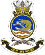 Crest of Naval Base Coonawarra, in Darwin, Australia