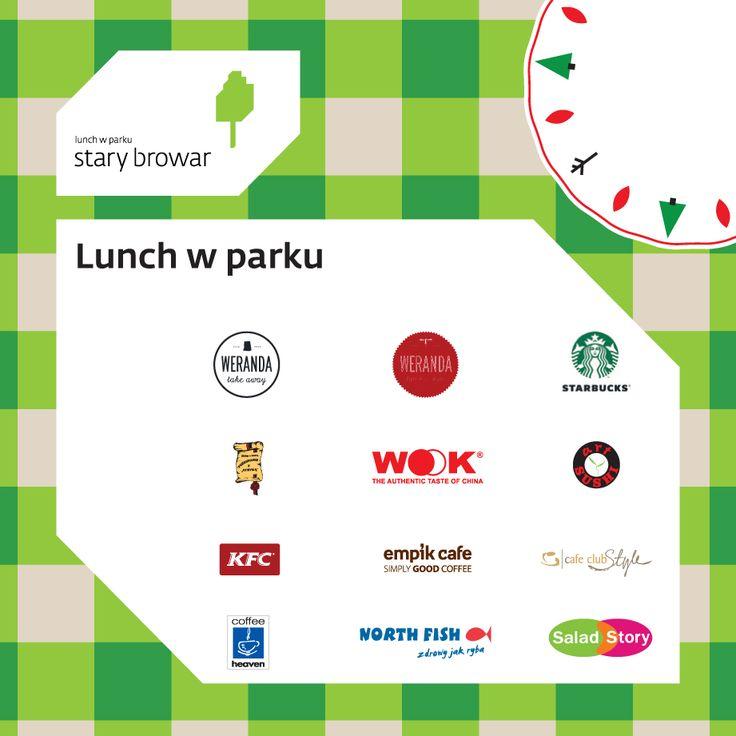 Kreacja Lunch w Paku partnerami akcji są: Weranda Take Away, Weranda Lunch & Wine, Starbucks, Pożegnanie z Afryką, WOOK, Art Sushi, KFC, Empik Cafe, Cafe Club Style, Coffee Heaven, North Fish oraz Salad Story #starybrowar #lunchwparku #jedzenie #lunch