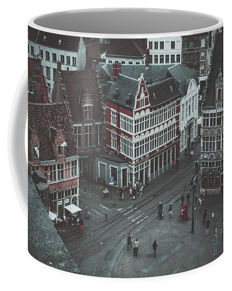 Travel Coffee Mug featuring the photograph Toy Town by Elena Ivanova IvEA  #ElenaIvanovaIvEAFineArtDesign #Decor #Mug #Cup #Gift