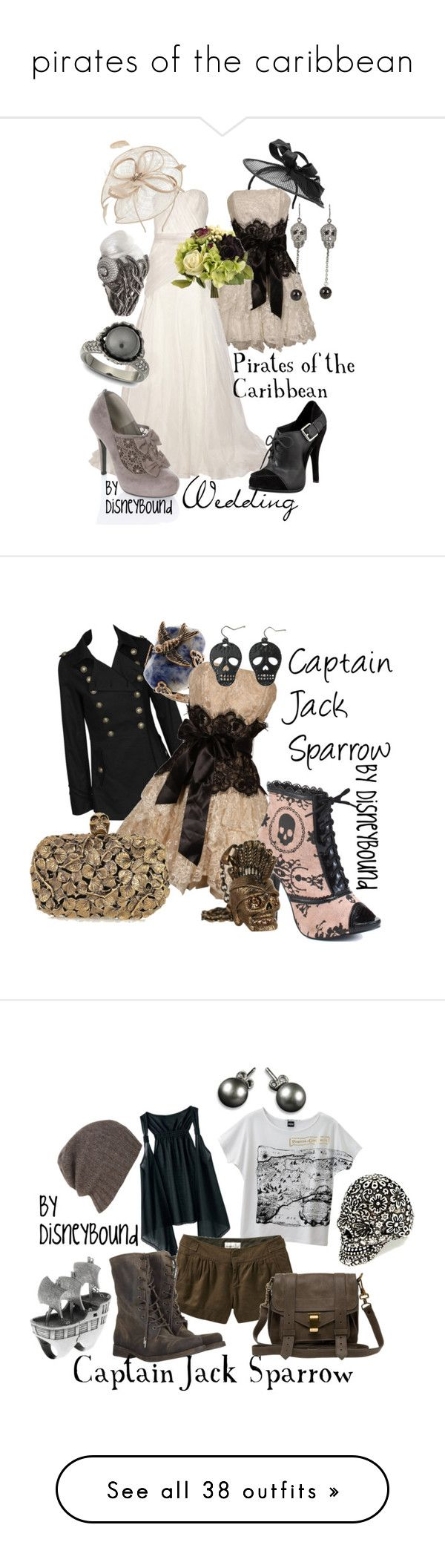 """""""pirates of the caribbean"""" by star2012 ❤ liked on Polyvore featuring Miu Miu, Lela Rose, Elizabeth and James, Miss Selfridge, CC, Noir Jewelry, Lydia Courteille, Swarovski, disney and Don't Ask Amanda"""