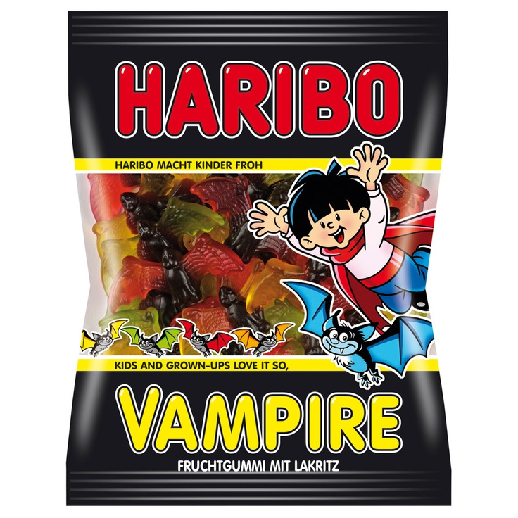 Haribo Vampires !   So need to get my mom to bring some back when shs goes to Europe again!!!