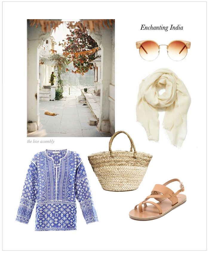 Travel Style: What to wear in India via theloveassembly.com #travel #fashion #india