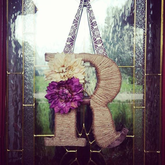 Outdoor Hanging Letter R by Uchique on Etsy, $31.00