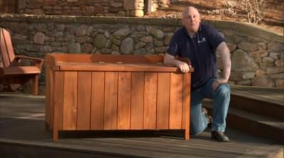 Deck planter box hangers woodworking projects plans - Deck rail planters lowes ...