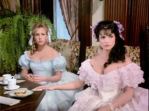 Terri Garber and Genie Francis in 'North and South' ... love the dresses!