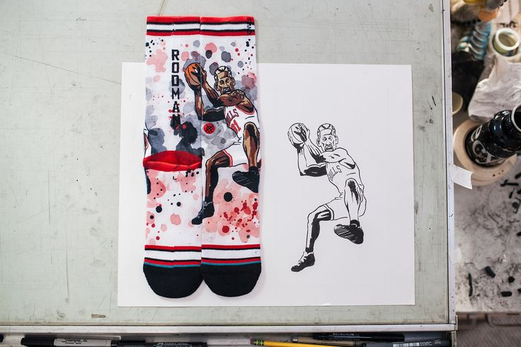 Todd Francis X Stance NBA Legends Collection. Collezione calze NBA