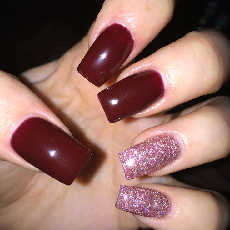 Nail Colour Maroon ~ the best inspiration for design and color of ...