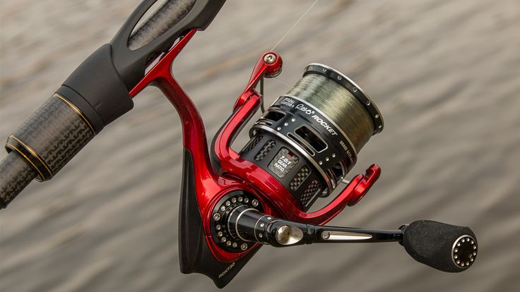 Abu. Garcia. With a 7.0:1 gear ratio, this incredibly fast spinning reel opens up a lot of doors for finesse anglers.