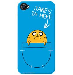 Adventure Time iPhone 4 case (Jake) #awesome! #cuterthantheotherone