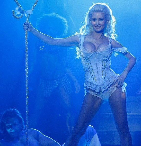 Those on! holly madison shows nude