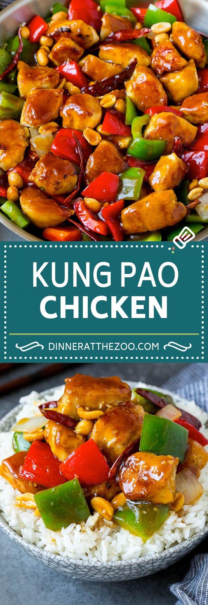 Kung Pao Chicken Recipe | Chicken Stir Fry #chicken #stirfry #chinesefood #peanu…