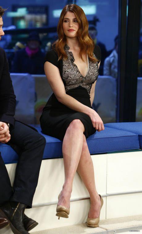 Gemma Arterton Hot Sexy Boobs Cleavage SideBoob Ass Legs Leg-Bomb See-Through Pokies Swimsuit Bikini Lingerie