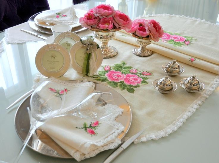 #guest #tableware #OttomanDesignbyNV #sofra #misafir #tablecloth #masa