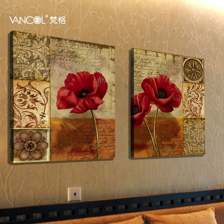 Free shipping Modern brief rustic painting decorative painting picture frame paintings $95.19