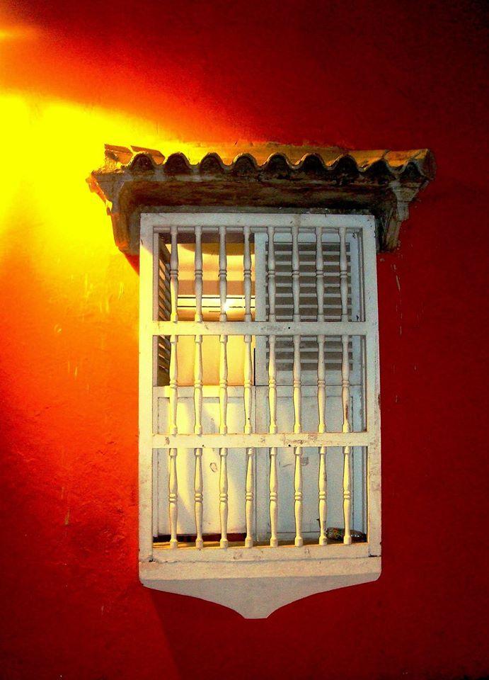 Ventana. Cartagena de Indias